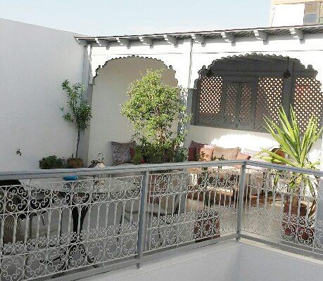 riad-larganier-terrasse riad l'arganier 1bd